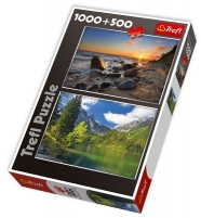TREFL 29112 Puzzle GAMTA 1000 + 500 det. Jigsaw for kids