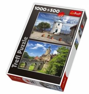 Dėlionė TREFL 29113 Puzzle GAMTA 1000 + 500 det.