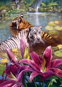 Dėlionė TREFL 37137 Puzzle Tigras 500 det. Dėlionės vaikams