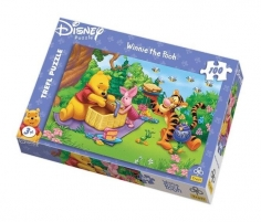 TREFL PUZZLE 16093 Winnie the Pooh with Friends 100 det. Jigsaw for kids