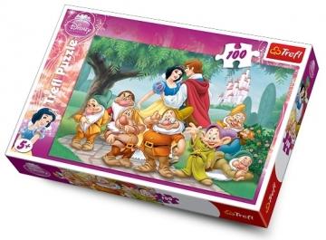 Dėlionė TREFL PUZZLE 16102 Disney Princess 100 det. Dėlionės vaikams