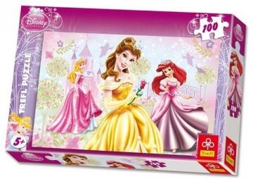 TREFL Puzzle 16162 Princesės 100 det. Головоломки для детей