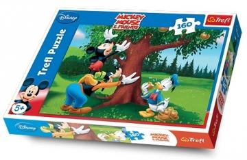 TREFL PUZZLE Mickey Mouse 15206 160 det. Dėlionės vaikams