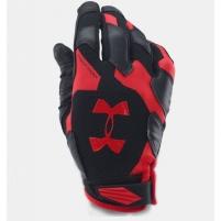 Treniruočių pirštinės Under Armour Renegade Gloves M 1253688-002, M Treniruočių pirštinės, diržai