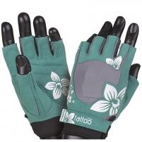 Treniruočių pirštinės Womens glovesJungle green/cream size L