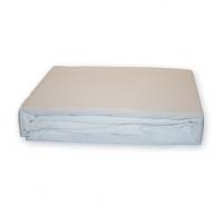 Trikotažinė paklodė su guma (Balta), 160x200 cm