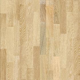 Trisluoksnis parketas 2250*190*13,5 Ąžuolas light brushed Rustic Medinių grindų danga (parketas, lentos)