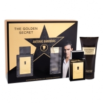 Tualetinis vanduo Antonio Banderas The Golden Secret EDT 50ml (Rinkinys 3)