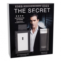 Tualetinis vanduo Antonio Banderas The Secret EDT 100ml (rinkinys)