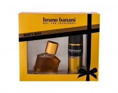 Tualetes ūdens Bruno Banani Man´s Best Eau de Toilette 30ml (Rinkinys) Smaržas vīriešiem
