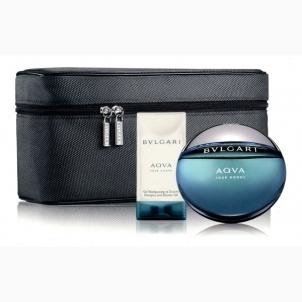 Tualetinis vanduo Bvlgari Aqua Pour Homme EDT 100ml (Rinkinys 2) Kvepalų ir kosmetikos rinkiniai
