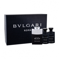 Tualetes ūdens Bvlgari Man Black Cologne EDT 60ml (Rinkinys 3)