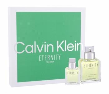 Tualetinis vanduo Calvin Klein Eternity EDT vyrams 100ml (Rinkinys 9) Kvepalų ir kosmetikos rinkiniai