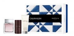 Tualetes ūdens Calvin Klein Euphoria Men EDT 100 ml (Rinkinys 5) Kvepalų ir kosmetikos rinkiniai