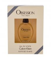 Tualetinis vanduo Calvin Klein Obsession Eau de Toilette 15ml For Men