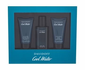Tualetinis vanduo Davidoff Cool Water EDT 40ml (rinkinys 1) Kvepalų ir kosmetikos rinkiniai