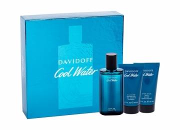 Tualetinis vanduo Davidoff Cool Water EDT 75ml (rinkinys) Kvepalų ir kosmetikos rinkiniai