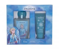 Tualetinis vanduo Disney Frozen II Elsa Edt 100 ml + dušo želė 75 ml Perfume for children