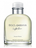 Tualetinis vanduo Dolce & Gabbana Light Blue Discover Vulcano EDT 125ml (testeris)