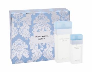 Tualetinis vanduo Dolce & Gabbana Light Blue EDT 100ml (rinkinys 2) Kvepalų ir kosmetikos rinkiniai