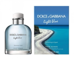 Tualetinis vanduo Dolce & Gabbana Light Blue Swimming In Lipari Pour Homme EDT 75 ml