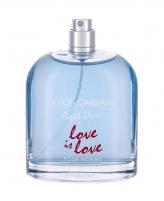 Tualetinis vanduo Dolce&Gabbana Light Blue Love Is Love EDT 125ml (testeris)