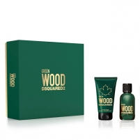 Tualetinis vanduo Dsquared² Green Wood - EDT 30 ml + dušo želė 50 ml Kvepalų ir kosmetikos rinkiniai