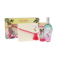 Perfumed water Escada Fiesta Carioca EDT 100 ml + Body lotion 150 ml + Cosmetic bag (Set)