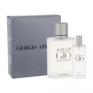 Tualetes ūdens Giorgio Armani Acqua di Gio Pour Homme EDT 100ml (Rinkinys 2)