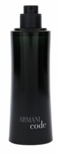 Tualetinis vanduo Giorgio Armani Black Code EDT 75ml (testeris) Kvepalai vyrams