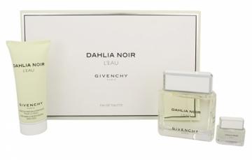 Tualetinis vanduo Givenchy Dahlia Noir L`Eau - EDT 90 ml + EDT 5 ml + sprchový gel 100 ml (Rinkinys) Kvepalai moterims