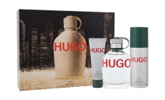 Tualetinis vanduo HUGO BOSS Hugo Man Eau de Toilette 125ml (Rinkinys)