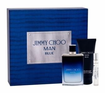 Tualetinis vanduo Jimmy Choo Jimmy Choo Man Blue Eau de Toilette 100ml (Rinkinys) Kvepalų ir kosmetikos rinkiniai