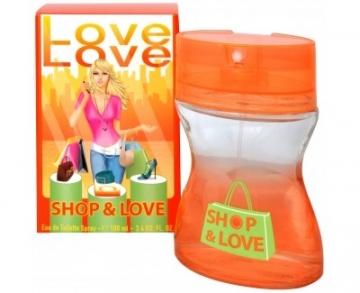 Tualetes ūdens Love Love Shop & Love EDT 35ml