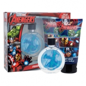 Tualetinis vanduo Marvel Avengers EDT 75ml + dušo žele 150 ml (Rinkinys) Kvepalai vaikams