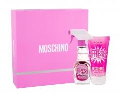 Tualetinis vanduo Moschino Fresh Couture Pink Eau de Toilette 30ml (Rinkinys 3)
