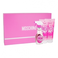 Tualetes ūdens Moschino Fresh Couture Pink EDT 50ml (Rinkinys )