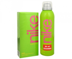 Perfumed water Nike Green Women EDT 100 ml (Set)