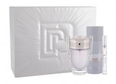 Tualetinis vanduo Paco Rabanne Invictus Eau de Toilette 100ml (Rinkinys 3) Kvepalų ir kosmetikos rinkiniai
