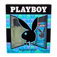 eau de toilette Playboy Generation For Him EDT 60ml (Rinkinys 2)
