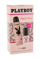 Tualetinis vanduo Playboy Play It Sexy For Her Eau de Toilette 11ml (Rinkinys)