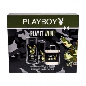 Tualetinis vanduo Playboy Play It Wild EDT 100ml (Rinkinys 2)