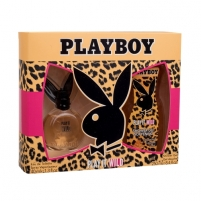 Tualetes ūdens Playboy Play It Wild EDT 40ml + Shower Gel 250 ml (Rinkinys)