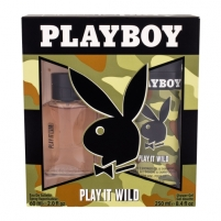 eau de toilette Playboy Play It Wild EDT 60ml (Rinkinys 2)