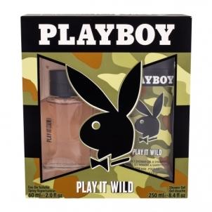 Tualetinis vanduo Playboy Play It Wild EDT 60ml (Rinkinys 2)