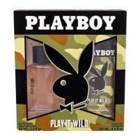 Tualetes ūdens Playboy Play It Wild EDT 60ml (Rinkinys 2)