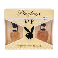 Tualetes ūdens Playboy VIP EDT 75ml (Rinkinys 5)