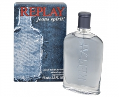 Tualetinis vanduo Replay Jeans Spirit For Him EDT 75ml