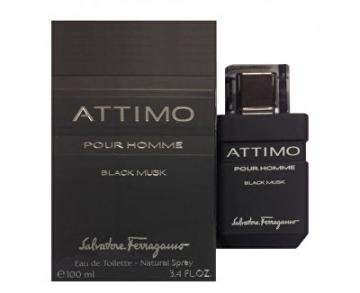 eau de toilette Salvatore Ferragamo Attimo Black Musk Pour Homme EDT 100 ml