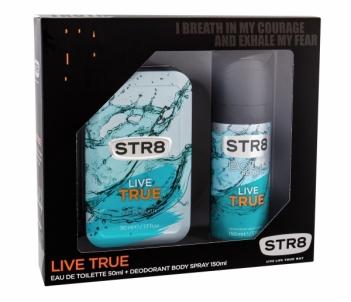 Tualetinis vanduo STR8 Live True EDT 50 ml + dezodorantas 150 ml (Rinkinys)